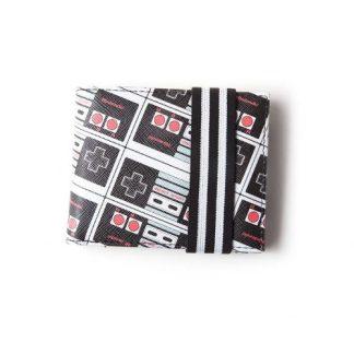 NES - CONTROLLER AOP BIFOLD PORTEMONNEE