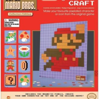 Super Mario Bros Pixel Craft magneetjes (720 stuks)