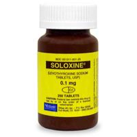 Soloxine (Levothyroxine) 0.1 mg 250 Tablets | VetDepot.com