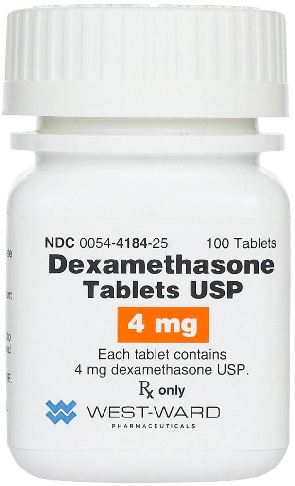 Dexamethasone Tablets 4 mg 100 ct | VetDepot.com