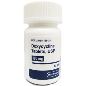 Doxycycline 100 mg 100 Tablets   VetDepot.com
