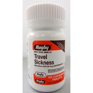Meclizine 25 mg 100 Tablets | VetDepot.com