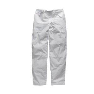 Pantalon medical unisexe Dickies avec cordon ajustable HC50601 (XL, Blanc)