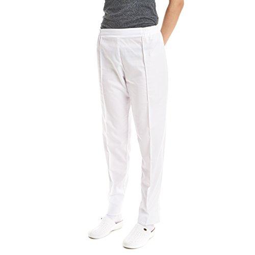 Pantalon De Travail Femme Blanc Boutique Discounts En