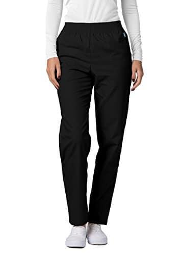 Pantalon Médical Blouses – Pantalons Uniformes d'Hôpital pour Femmes – 502 Couleur: BLK | Taille: L