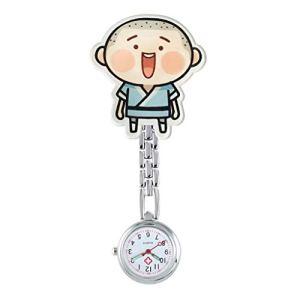 Montre de poche Infirmière Montre de Poitrine, à Quartz Lumineux, médecin/Personnel Infirmier/infirmière/Poche/Daily Wear (Color : T)
