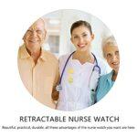 ibasenice Infirmière Revers Montre Suspendus Médecin Montre De Poche Mouvement Quartz Infirmières Montre pour' obtention du Diplôme D' Anniversaire pour Infirmières Médecins