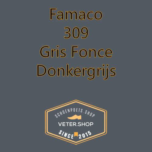 Famaco leer onderhoud Kleur 309 donker grijs