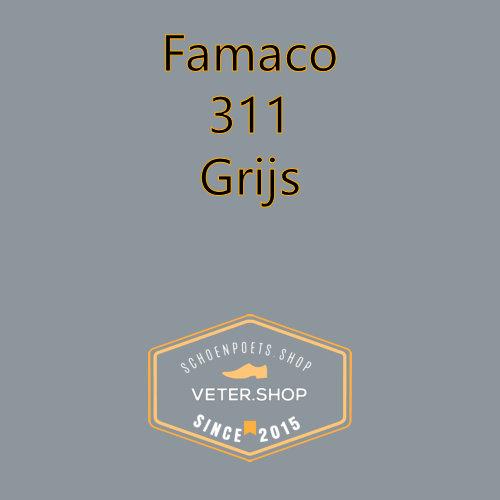 Famaco leer onderhoud Kleur 311 grijs