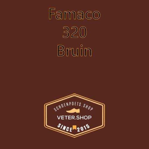 Famaco leer onderhoud Kleur 320 bruin