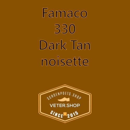 Famaco leer onderhoud Kleur 330 Nootjes