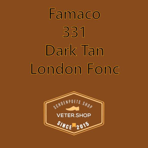 Famaco leer onderhoud Kleur 331 donker londen