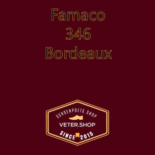 Famaco leer onderhoud Kleur 346 Bordeaux