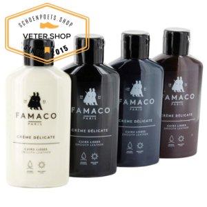 Famaco Crème delicate voor luxe duurzaam ledr