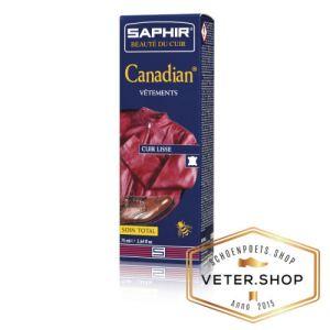 Saphir Canadian kleurherstellende creme voor zacht leer