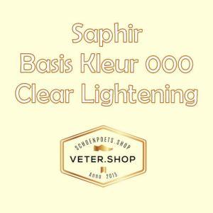 Saphir 000 Verlichtend