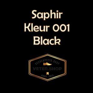 Saphir 001 Zwart