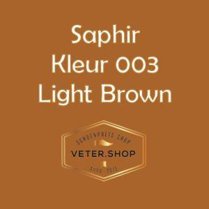 Saphir 003 Licht Bruin