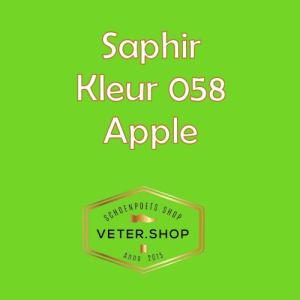 Saphir 058 appel groen