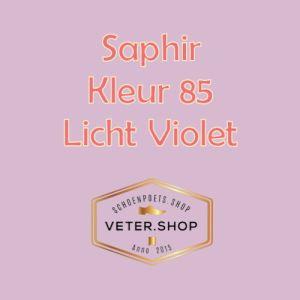 Saphir 085 Licht Violet