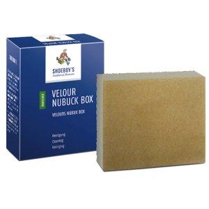 Shoeboy's suede velour box