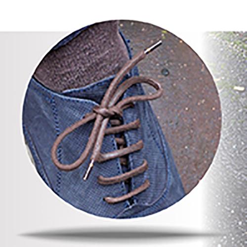 dikke wax schoenveters Ringpoit 73