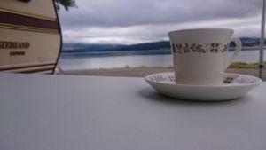 Morgenstund ved Mjøsa :-)