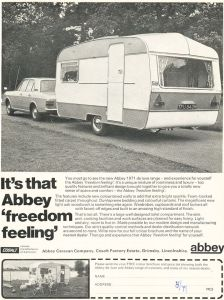 Abbey annonse fra 1971. BL