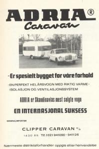 Adria annonse fra 1975. BL