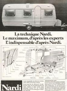 Annonse for italienske Nardi fra 1978. BL