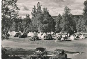 Birkebeineren Lillehammer postgått i 1956.
