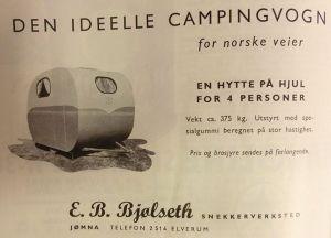 Bjølseth annonse fra 1956. BL