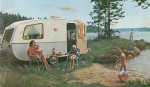 Cabby brosjyrebilde fra 1967. BL