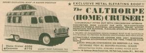 Calthorpe annonse fra 1957. BL