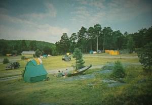 Campingen Fredrikstens Festning. 60-tallet