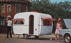 De Reu brosjyrebilde fra tidlig 70-tall. Vognene var produsert i Belgia og ble også importert til Norge midt på 1980-tallet. BL