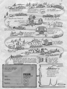En aldri så liten svensk reklame fra 1961 til dere med Lillebror. Roar Kristiansen