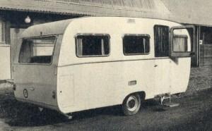 En danskprodusert vogn fra 1962 med betegnelsen Randers Spartan III.  BL