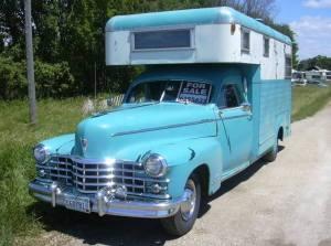 Flott Oldtimer. 1946 Cadillac. Odin Jonassen