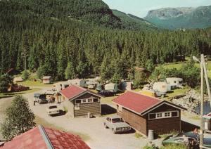 Hemsedal. Bruhaug Camping. ca 1970