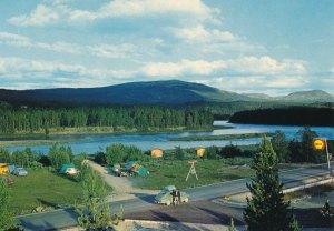 Kvennan Camping, Tolga. 60-tallet.