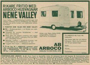 Nene Valley annonse fra 1964. BL