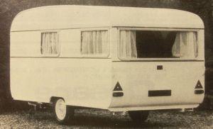 Pilote er i dag mest kjent for sine bobiler men her er en campingvogn fra 1970-tallet. BL