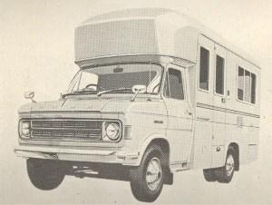 Road ranger basert på Ford fra 1974.BL
