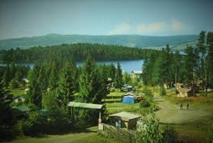 Steinvik camping. Moelv.  70-tall.