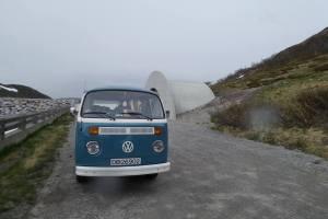 Tone Berit Søderberg VW Transporter 74 mod