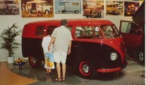 Westfalia som var oppgitt å være fra 1951. BL