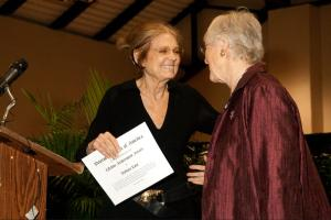 Gloria Steinem & BarbaraLove