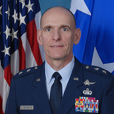 Major General Jim Keffer