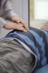 a patient receives treatment from a Ki London Master